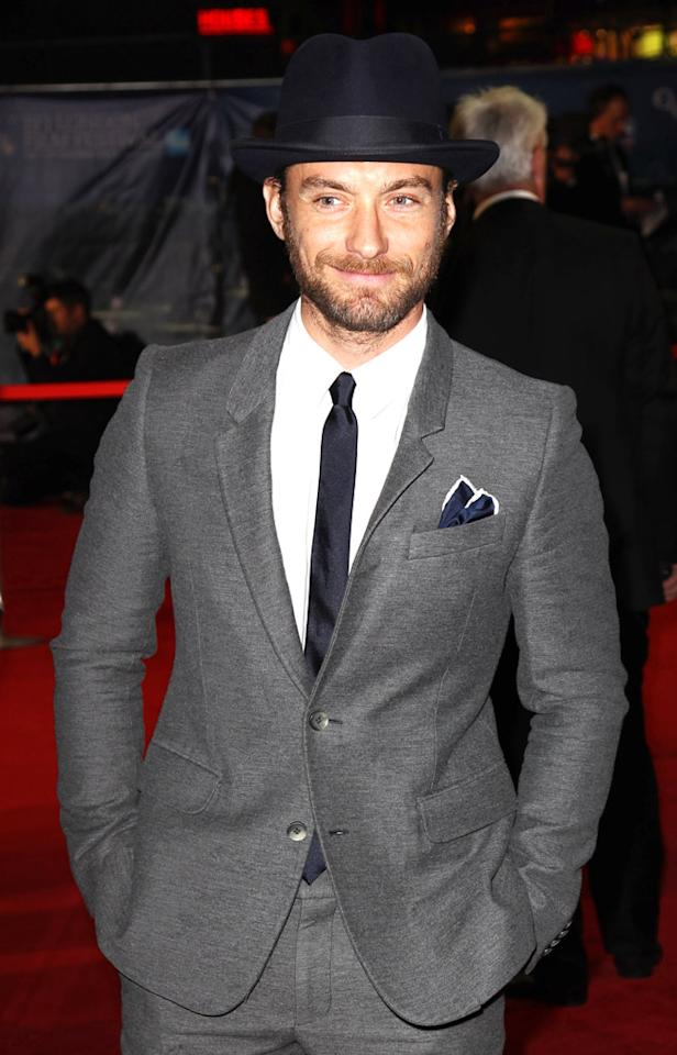 Jude Law  turns 39 on December 29.