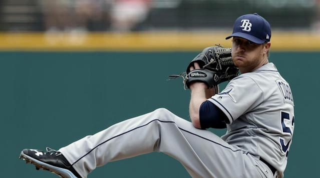 Alex Cobb is among the free agent starters who could interest the Blue Jays. (AP)