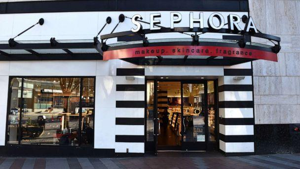 PHOTO: A Sephora storefront and sign are pictured. (Stephen Ehlers/Moment Editorial/Getty Images)