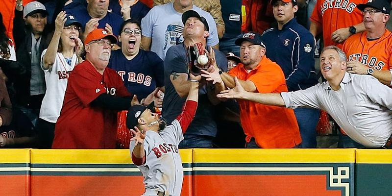 Mookie Betts Interference