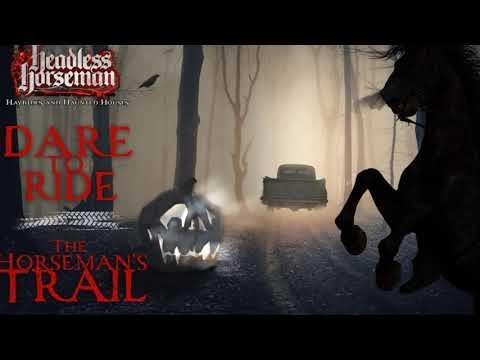 """<p><strong>Location: </strong>Ulster Park, NY<strong><br>General admission price:</strong> $39.95 to $47.95 + fees<br></p><p>Fans flock to Ulster Park, NY, every year for the theatrical Headless Horseman Hayride, corn maze, and several haunted house experiences on the grounds of a gorgeous, historic 18th-century manor. In 2020, the hayride will be replaced by a drive-through experience titled """"The Horseman's Trail."""" This <a href=""""https://youtu.be/4cdjhxXWMiM"""" rel=""""nofollow noopener"""" target=""""_blank"""" data-ylk=""""slk:video trailer"""" class=""""link rapid-noclick-resp"""">video trailer</a> shows you what to expect, and we're officially spooked by what we see—but drive carefully through your fear, mmkay?</p><p><a class=""""link rapid-noclick-resp"""" href=""""https://headlesshorseman.com/tickets"""" rel=""""nofollow noopener"""" target=""""_blank"""" data-ylk=""""slk:Buy Tickets"""">Buy Tickets</a></p><p><a href=""""https://youtu.be/4cdjhxXWMiM"""" rel=""""nofollow noopener"""" target=""""_blank"""" data-ylk=""""slk:See the original post on Youtube"""" class=""""link rapid-noclick-resp"""">See the original post on Youtube</a></p>"""