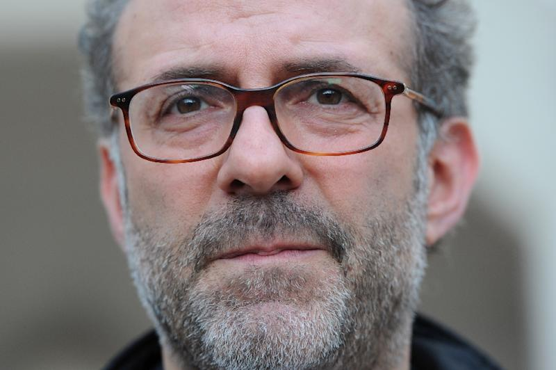 Massimo Bottura, owner and chef at Italian restaurant Osteria Francescana, which has been crowned world's best restaurant of 2016 at an awards ceremony in New York (AFP Photo/Carl Court)
