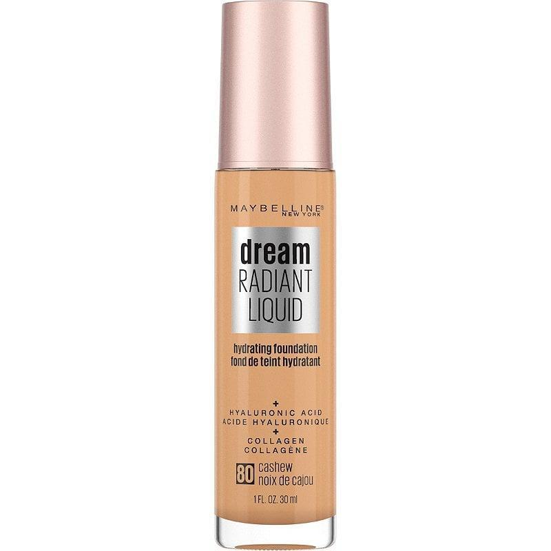 <p>The <span>Maybelline Dream Radiant Liquid Foundation</span> ($13) glides onto the skin and feels incredibly flexible. You can layer it for medium coverage without fear of it getting cakey.</p>