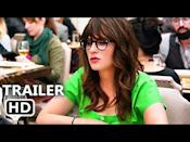 """<p>After being cheated on, Jess (Zooey Deschanel) moves out of her boyfriend's house and into a loft that she found on Craigslist. Her new roommates? Three single men. What could go wrong?</p><p><a href=""""https://www.youtube.com/watch?v=qMg4vfKvLJU"""" rel=""""nofollow noopener"""" target=""""_blank"""" data-ylk=""""slk:See the original post on Youtube"""" class=""""link rapid-noclick-resp"""">See the original post on Youtube</a></p>"""
