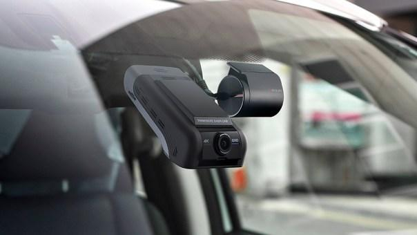 This new model dashcam from Thinkware comes with a low profile and modern design. Photo courtesy of Thinkware