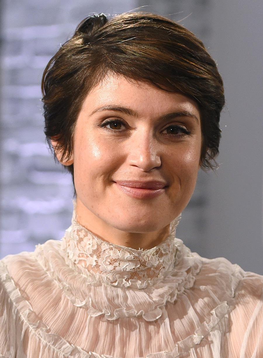 <p>The English actress was recently interviewed on AOL Build Live in London, and she looked prim and proper with her short crop swept to the side. (Photo by Anthony Harvey/Getty Images) </p>