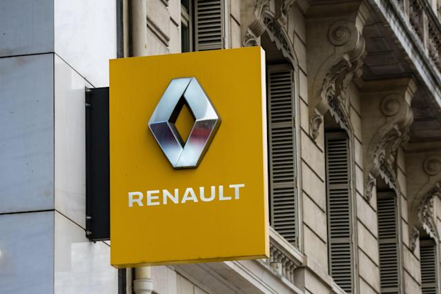 General view of the closed L'Atelier Renault store, at Avenue des Champs Elysees, in the 8th quarter of Paris, as the city imposes emergency measures to combat the Coronavirus COVID-19 outbreak, on March 16, 2020 in Paris, France. Photo: Edward Berthelot/Getty Images