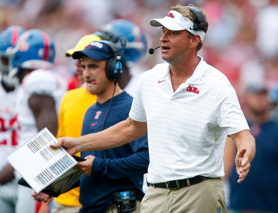Ole Miss coach Lane Kiffin blew it against Alabama, crossing the line from aggressiveness to recklessness.