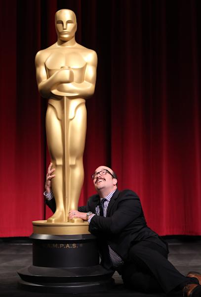 39th Annual Student Academy Awards narrative category winner Ryan Prows poses for a photo at the Academy of Motion Picture Arts and Sciences, Saturday, June 9, 2012, in Beverly Hills, Calif. (Photo by Matt Sayles/Invision/AP)