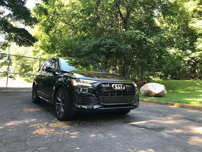 The Audi Q7 carries the torch for the brand's three-row, midsize SUV platform.