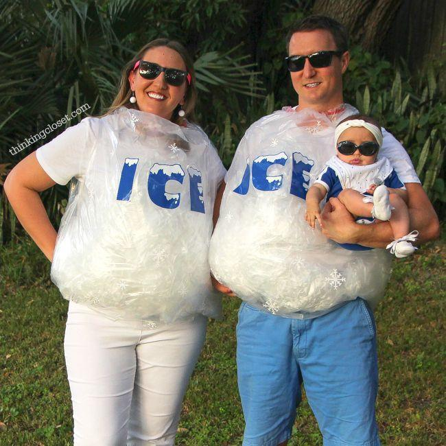 """<p>Don't miss out on this punny costume from the 1990 hit rap song, """"Ice Ice Baby"""" — perfect for a family of three!</p><em><a href=""""https://www.thinkingcloset.com/2016/10/26/ice-ice-baby-punny-halloween-costume/"""" rel=""""nofollow noopener"""" target=""""_blank"""" data-ylk=""""slk:See more at The Thinking Closet >>"""" class=""""link rapid-noclick-resp"""">See more at The Thinking Closet >></a></em>"""