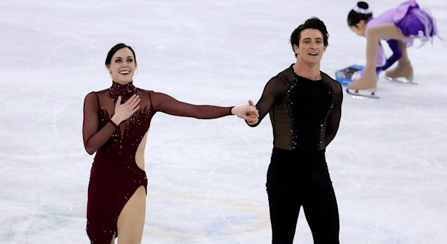 Possibly the final Olympic skate from Tessa Virtue and Scott Moir (Getty Images)