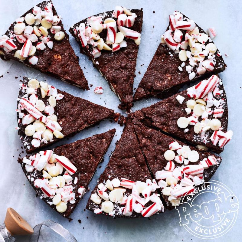 Christina Tosi's Candy Cane & Cocoa Cookie Pie