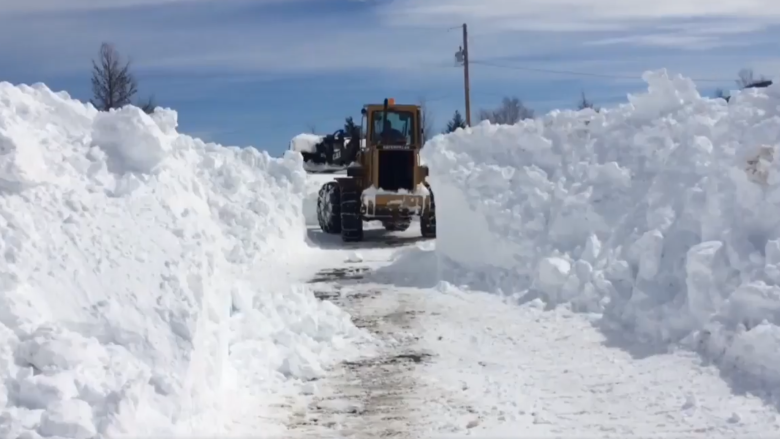 Man, 76, carried over huge Gander Bay snowbanks to get to ambulance