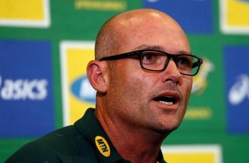 Newly appointed Springboks head coach Jacques Nienaber