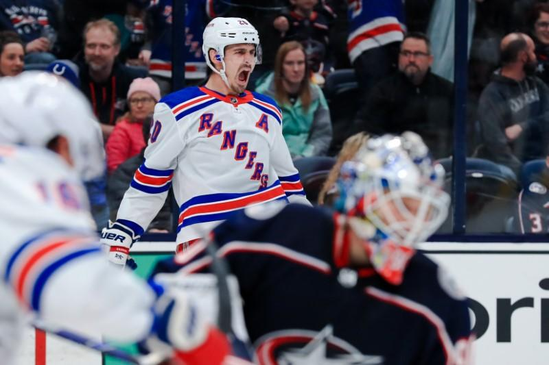 NHL roundup: Surging Rangers win 4th straight