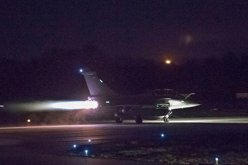 Britain, France and the US conducted targeted strikes against Syrian chemical weapons facilities over the weekend (AFP Photo/-)