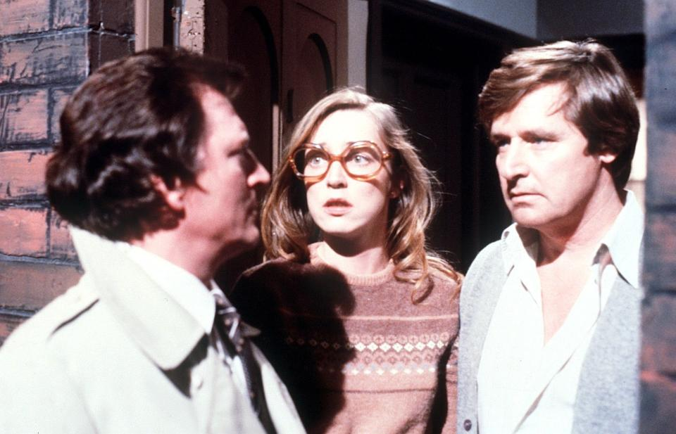 Mike was at the centre of a love triangle story with Dierdre and Ken Barlow in 1983 (Photo: Shutterstock/ITV)