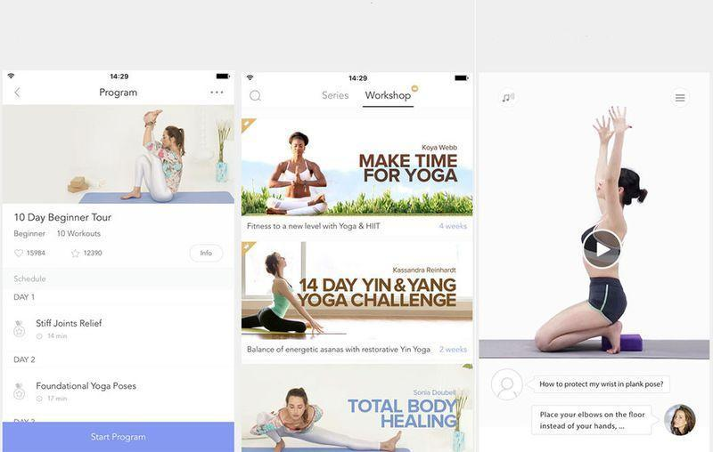 """<p><a href=""""https://play.google.com/store/apps/details?id=com.dailyyoga.inc"""" rel=""""nofollow noopener"""" target=""""_blank"""" data-ylk=""""slk:Android"""" class=""""link rapid-noclick-resp"""">Android</a>, <a href=""""https://itunes.apple.com/us/app/daily-yoga-lose-weight-get/id545849922?mt=8"""" rel=""""nofollow noopener"""" target=""""_blank"""" data-ylk=""""slk:iOS"""" class=""""link rapid-noclick-resp"""">iOS</a></p><p>Whether you are a beginner or an expert at practicing yoga, <a href=""""https://itunes.apple.com/us/app/daily-yoga-lose-weight-get/id545849922?mt=8"""" rel=""""nofollow noopener"""" target=""""_blank"""" data-ylk=""""slk:Daily Yoga"""" class=""""link rapid-noclick-resp"""">Daily Yoga</a> lets you squeeze in a session on any device at any time. This app adds serenity to your life by offering more than 100 yoga classes, personalized data, and even playlists to help you get your """"om"""" on.<br></p>"""