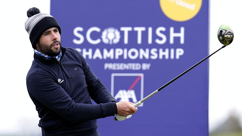 Adrian Otaegui sets early pace at Scottish Championship