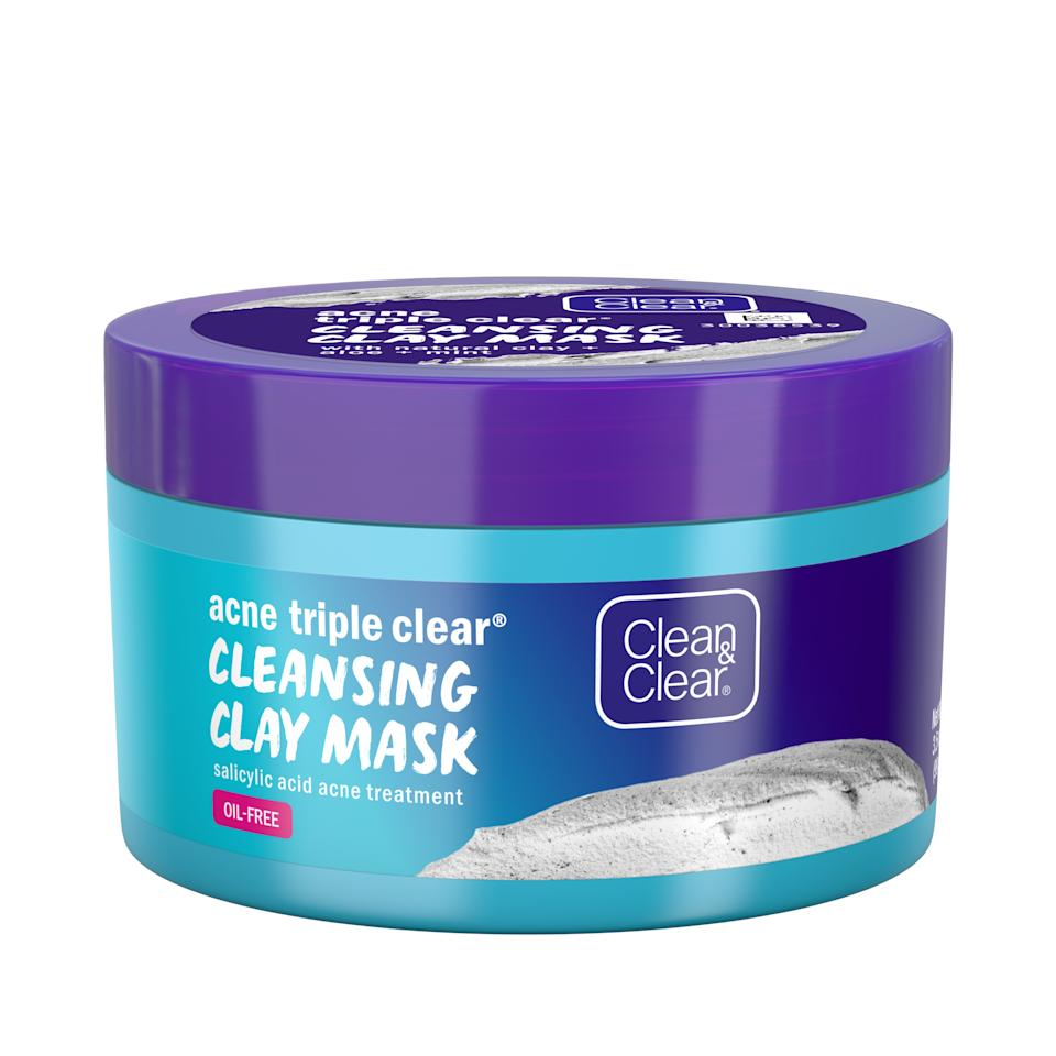 Clean & Clear Acne Triple Clear Clay Face Mask
