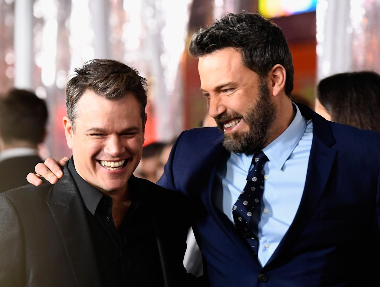 <p>Living under the same roof, ignoring the dishes left in the sink, using up all of the hot water while showering in the shared bathroom. Celebrity roomies, they're just like us! Well, they were, before they hit it big.</p>