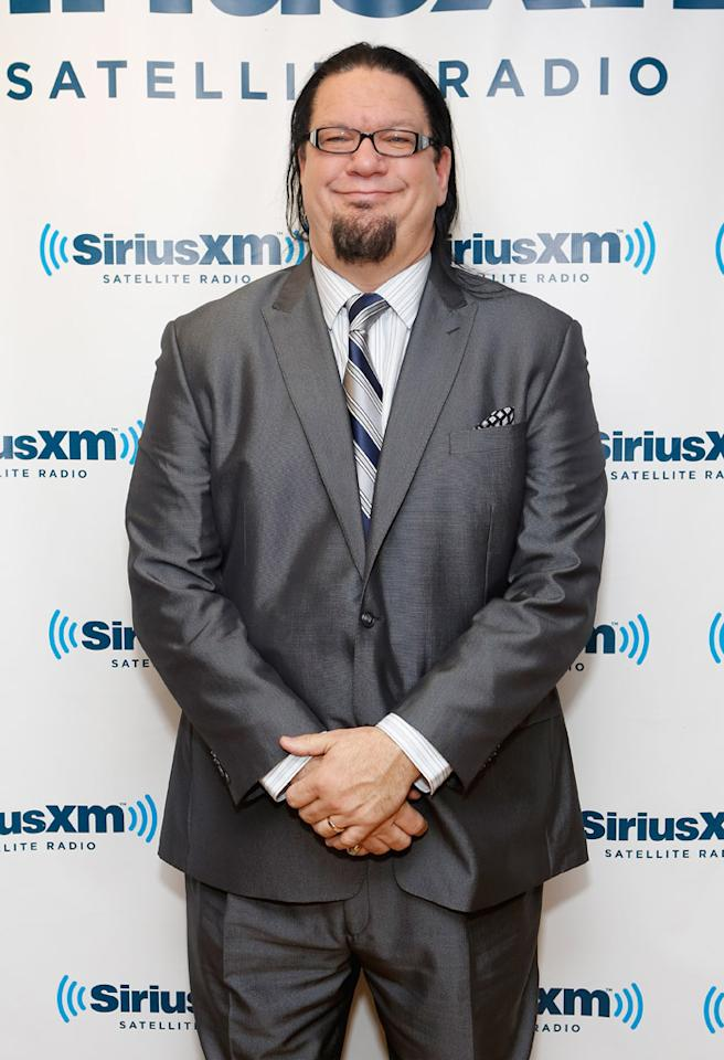 NEW YORK, NY - NOVEMBER 14:  Illusionist Penn Jillette visits the SiriusXM Studios on November 14, 2012 in New York City.  (Photo by Cindy Ord/Getty Images)