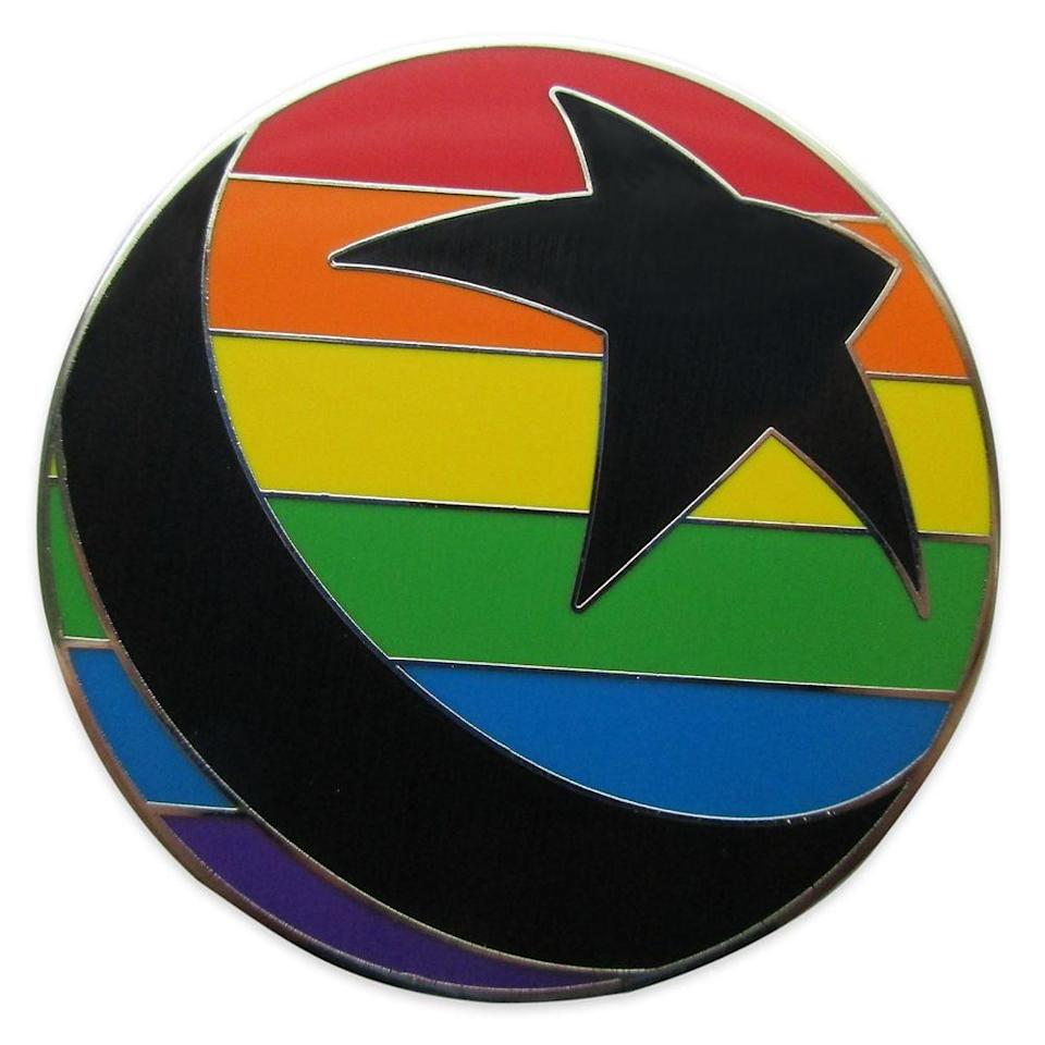 <p>You'll have a ball while wearing the <span>Pixar Ball Pin</span> ($10).</p>