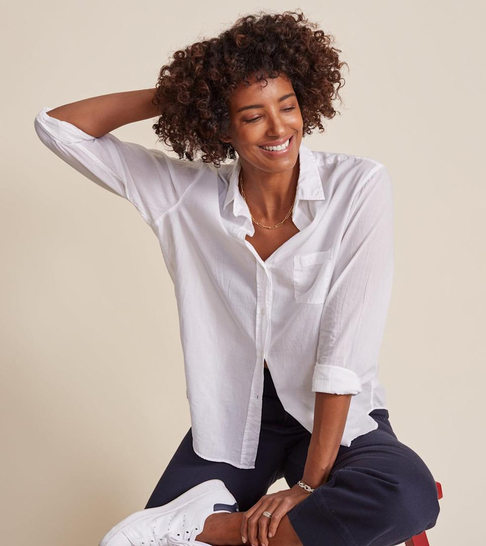 <p>This <span>Grayson The Hero Classic Tissue Cotton</span> ($128) is a staple, and it comes in so many colors.</p>