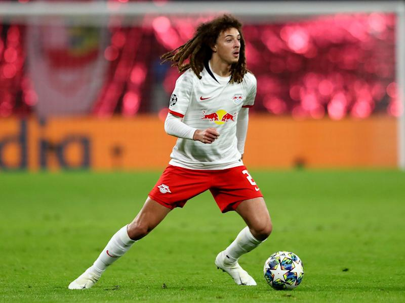 Ethan Ampadu has struggled for game time on loan at Leipzig: Getty