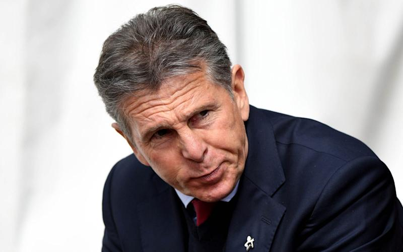 Claude Puel guided Southampton to the EFL Cup final - Rex Features