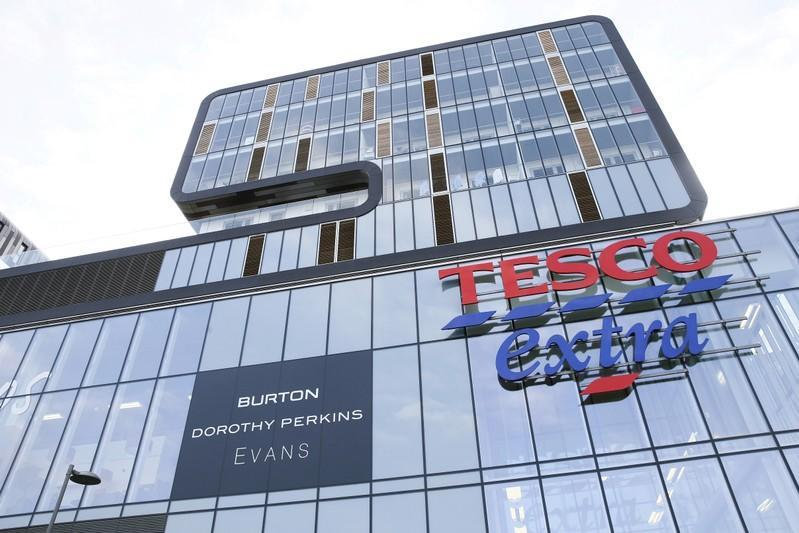 FILE PHOTO: A Tesco Extra store is seen in Woolwich, southeast London