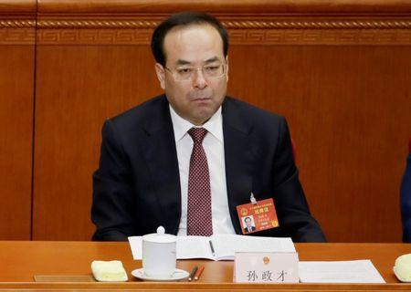 Sun Zhengcai, Once Seen as Future Leader, Tried for Bribery