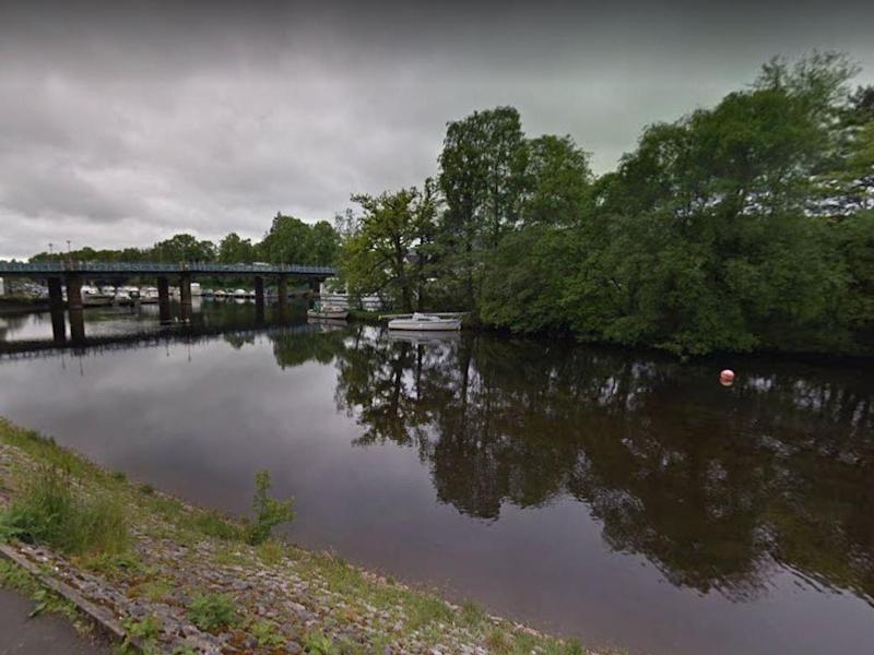 Ava Gray, 12, died after getting into difficulty in the River Leven: Google Street View