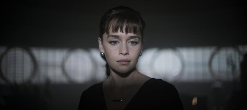 Emilia Clarke as Qi'ra in Solo: A Star Wars Story (credit: Disney)