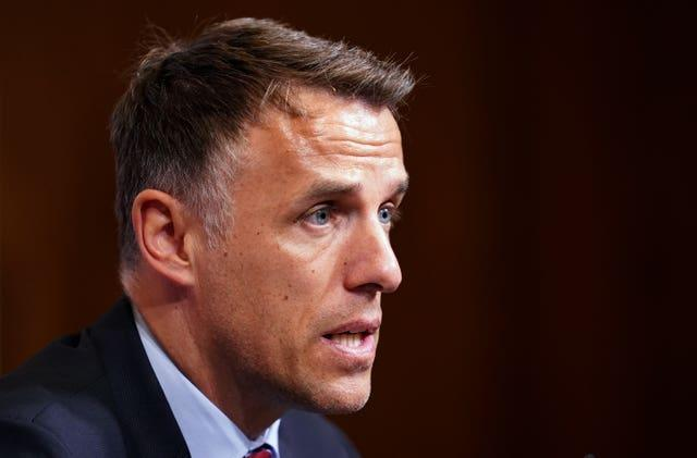 Phil Neville was due to take charge of Team GB this summer