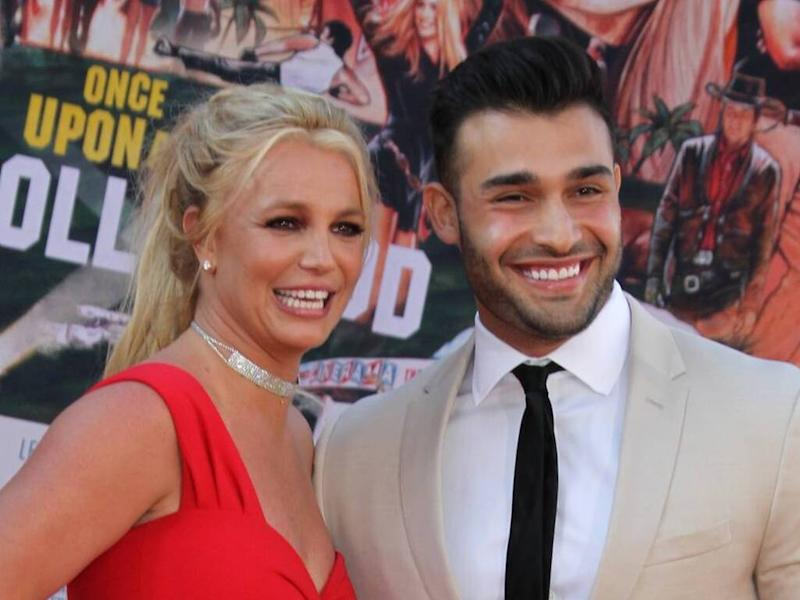 Britney Spears' boyfriend defends singer over claims her Instagram posts are 'scary'
