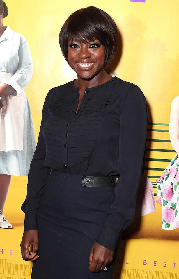 "Viola Davis (""The Help"") turns 46. Eric Charbonneau/<a href=""http://www.wireimage.com"" target=""new"">WireImage.com</a> - July 27, 2011"