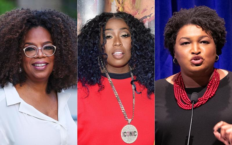 Take it from Oprah Winfrey, Missy Elliott and Stacey Abrams. (Photo: Getty Images)