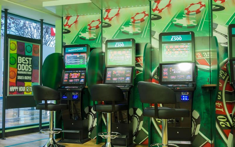 The government has said it will cap FOBT stakes at £2 - Alamy