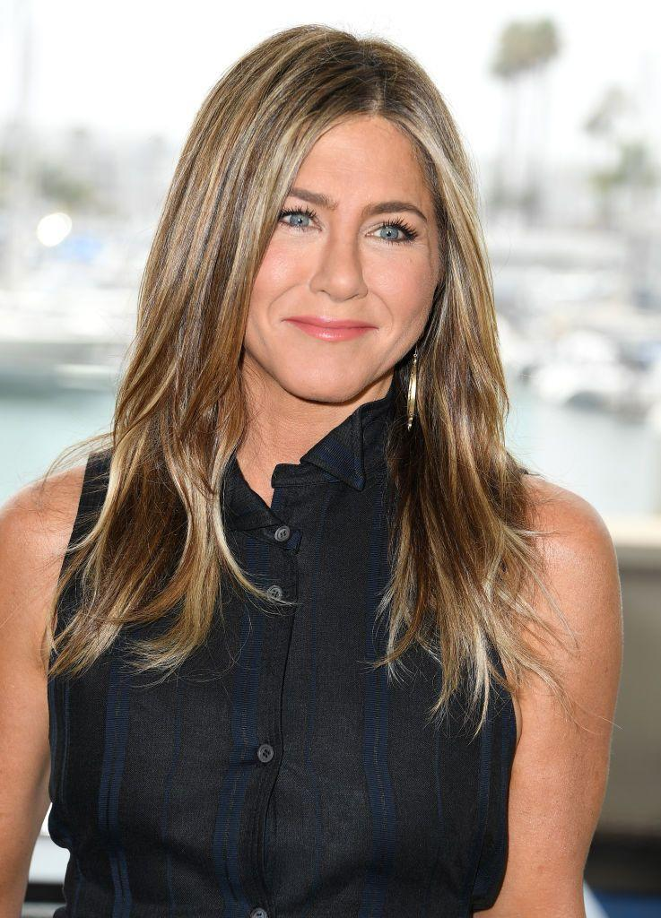 """<p>Aniston is the queen of defying age (just check out the photos from her <a href=""""https://www.prevention.com/fitness/a25423499/jennifer-aniston-diet-boxing-routine/"""" rel=""""nofollow noopener"""" target=""""_blank"""" data-ylk=""""slk:50th birthday party"""" class=""""link rapid-noclick-resp"""">50th birthday party</a>). In an interview with Ellen Degeneres, she revealed that she owes her rock-hard body to her boxing sessions with trainer Leyon Azubuike.</p>"""
