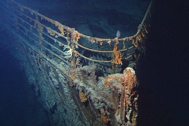 Possible human remains at Titanic site
