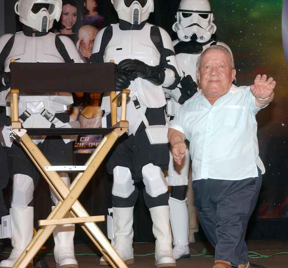 <p>Actor Kenny Baker, known for portraying R2-D2 in the 'Star Wars' movies died on Aug. 13, 2016 at 81. Photo from Getty Images </p>