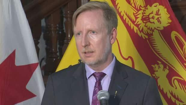 Education Minister Dominic Cardy says the decision was influenced by the expectation that teachers will be vaccinated by April 12. (Ed Hunter/CBC - image credit)