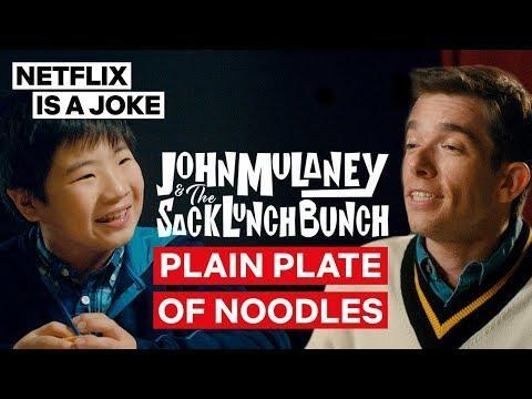 "<p><em>John Mulaney & The Sack Lunch Bunch </em>may have been made by a stand-up, but it's definitively not stand-up. It is a comedy special, though, and it's a pretty incredible one. Made in the format of the after-school specials he grew up with Mulaney leads this special with a group of talented kids, merging surrealist songs, routines, and bits for one of the most entertaining and insightful hours you'll see. Music fans will be delighted when David Byrne makes a guest appearance midway through, and Jake Gyllenhaal continues his delightfully weird streak with a late performance of his own. Check this one out if you're in the mood to mix things up. <em>—ER</em></p><p><a href=""https://www.youtube.com/watch?v=Bxt0AEoANJk"" rel=""nofollow noopener"" target=""_blank"" data-ylk=""slk:See the original post on Youtube"" class=""link rapid-noclick-resp"">See the original post on Youtube</a></p>"