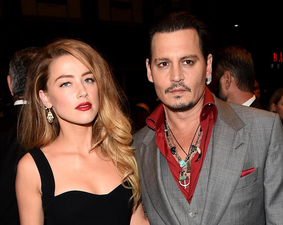 <p>Just prior to splitting with Paradis, he met 30-year-old Amber Heard while making 'The Rum Diary' in 2011. They began dating in 2012 and married in a civil ceremony at Depp's home in LA. She filed for divorce, citing irreconcilable differences, on May 23, 2016.</p>