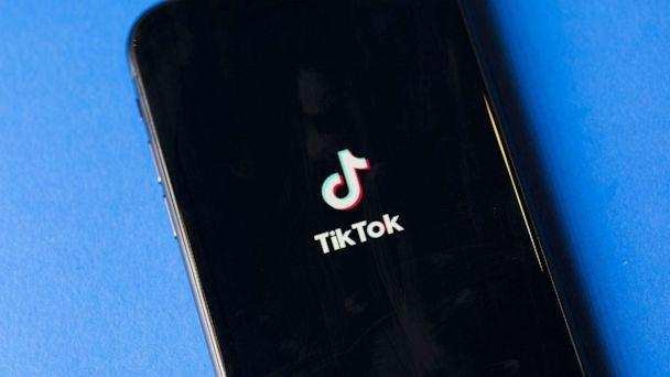 PHOTO: TikTok app is arranged for a photograph on a smartphone in Sydney, Sept. 14, 2020.  (Brent Lewin/Bloomberg via Getty Images, FILE)
