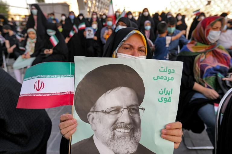 Newly-elected president Ebrahim Raisi won nearly 62 percent of the vote on a turnout of just 48.8 percent, a record low for a presidential poll in Iran