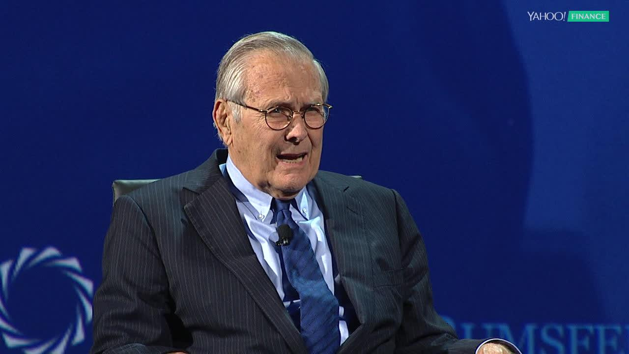 Blue apron yahoo finance -  I M Worried About The Way Public Service Is Seen Donald Rumsfeld Video