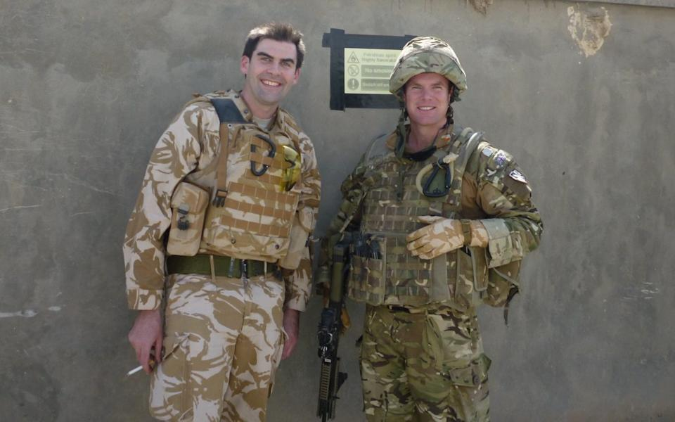 I served on Operation Herrick 13, from September 2010 to April 2011. Seen here on the right, with a mate.